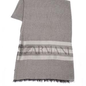 Emporio Armani sciarpa maxi logo