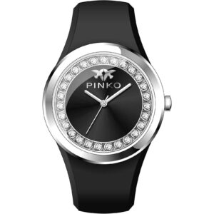 orologio Pinko donna silicone nero